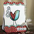 JennB Curly Bird Card