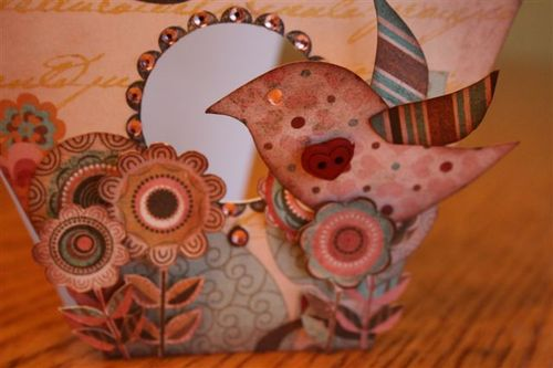 Birdhouse Card (detail)